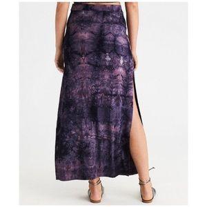 American Eagle Tie Dye Maxi Skirt